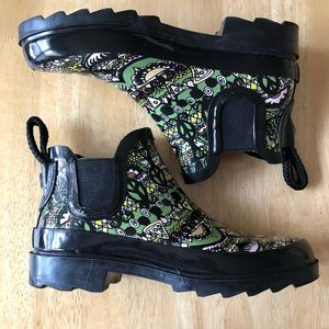Sakroots Rhyme Rain Boots Multicolored Size 6